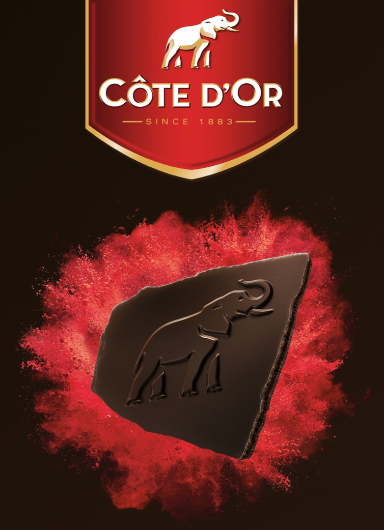 Côte d'Or lance la tablette de chocolats sans carré