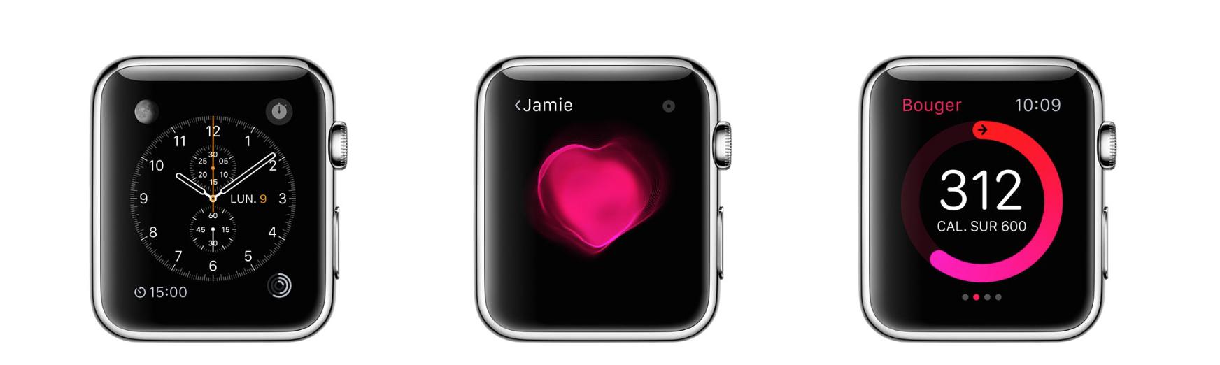 l'Apple Watch est aussi un coach sportif et objet de santé