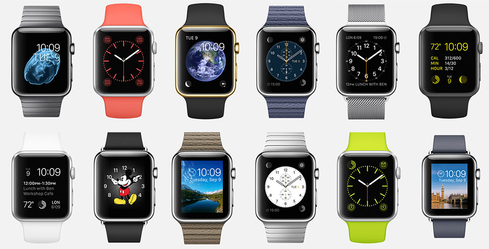 Apple dévoile son Apple Watch, véritable bijoux de technologie