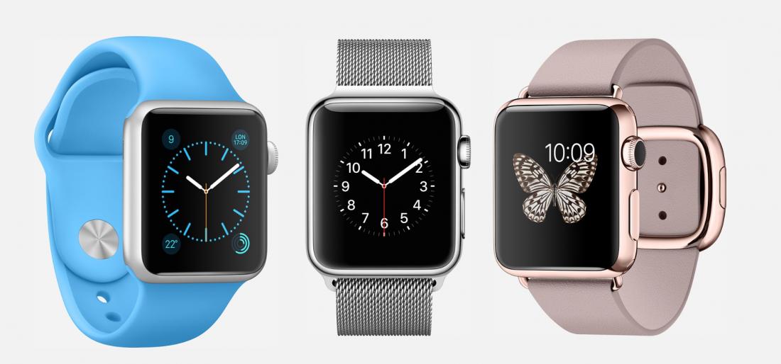 L'apple Watch se décline en trois modèle : sport, classique et édition