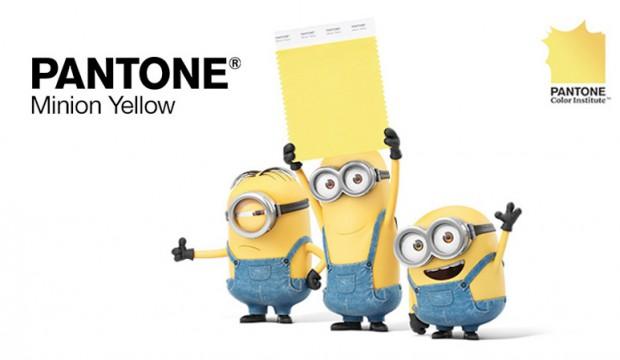 Universal Studio s'associe à Pantone et créé le Jaune Minions