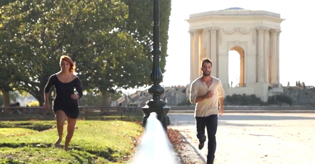 une vidéo artistique et touristique pleine de grâce