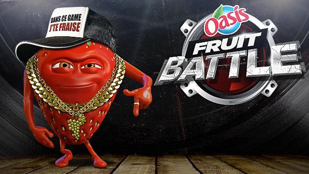 MC Ramon à d'la rime dans la barquette et compote pas finir en smoothie #FruitBattle
