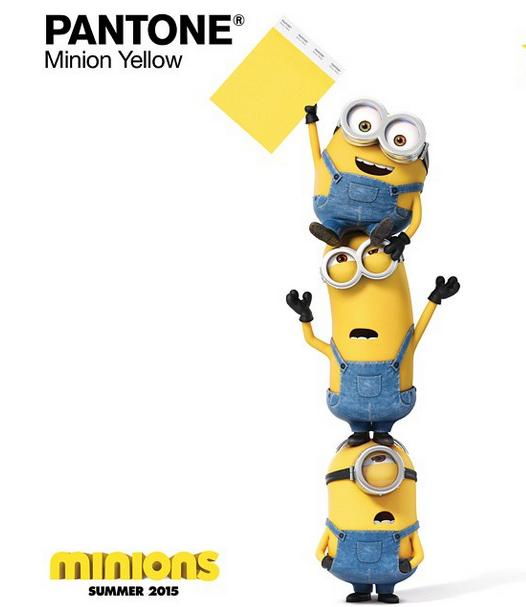 Pantone crée le jaune Minions