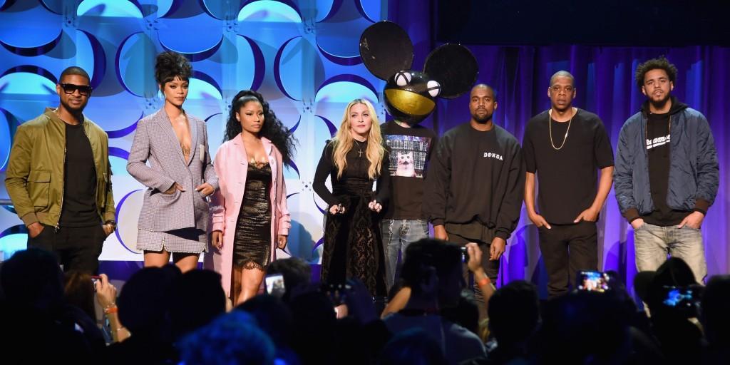 Madonna, Rihanna, Usher, les Daft Punk ou encore Beyoncé font parti des actionnaires Tidal