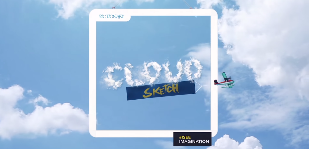 Avec Cloud Sketch, Pictionary a fait appel à l'imagination des passants