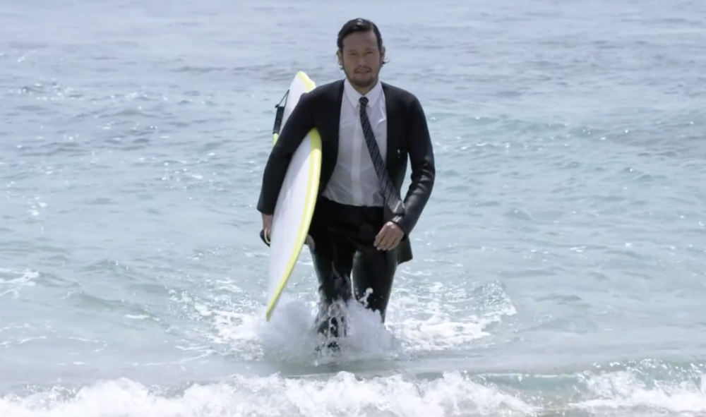 True Wetsuits de Quiksilver où commencer passer du bureau à la plage sans se changer et en restant classe !