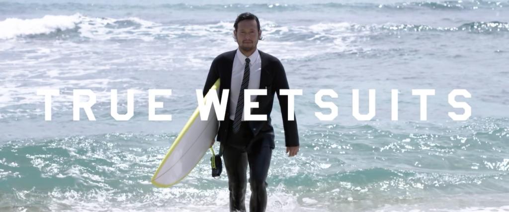 Quiksilver lance une combinaison de surf qui ressemble à un costume
