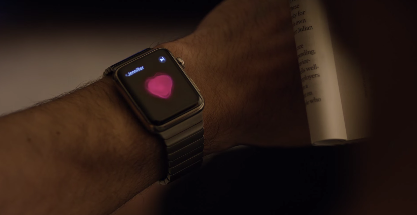 Avec l'Apple  Watch c'ets facile de rester en contact avec ceux qu'on aime