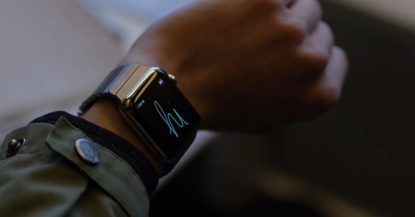 émojis, battements de coeurs, message, et autres applications déjà accessible via votre iphone, l'apple watch est à portée de main !
