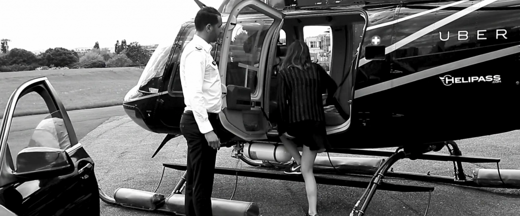 Uber s'associe à Helipass pour proposer des courses en hélicoptère pendant le Festival de Cannes