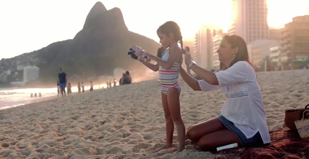 Une belle opération pour Nivea au Brésil