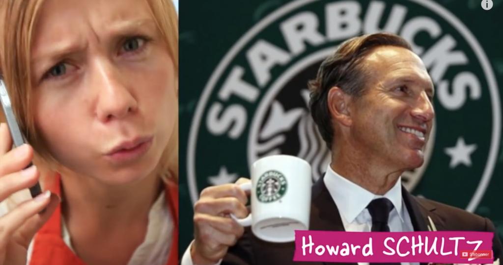 Ils décident de partir à la rencontre de Howard Schultz, le PDG monde de Starbucks