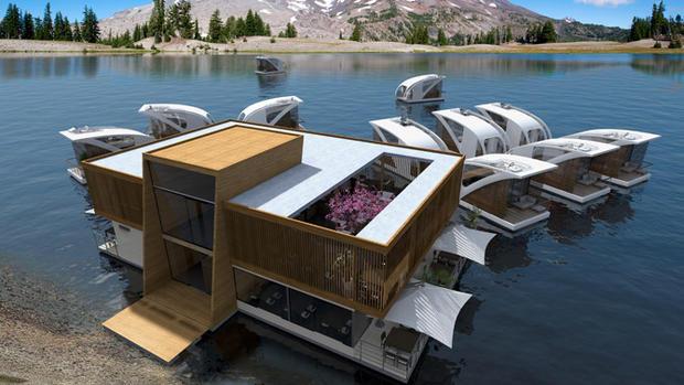 Salt & Water présente un concept de catamaran/ appartement