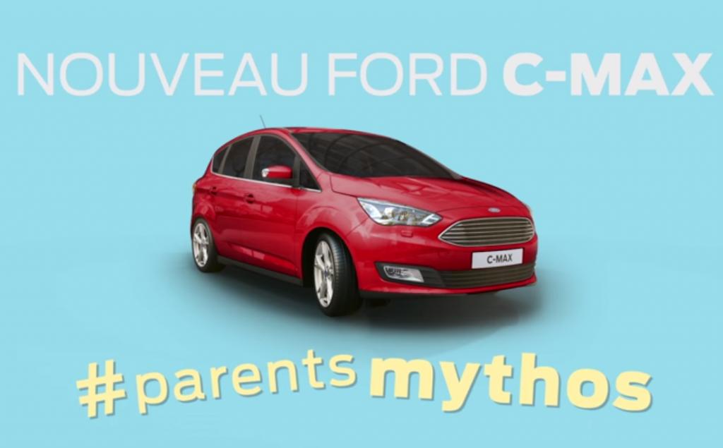 Ford présente sa nouvelle C-Max dans une campagne des plus amusantes baptisée parents mythos