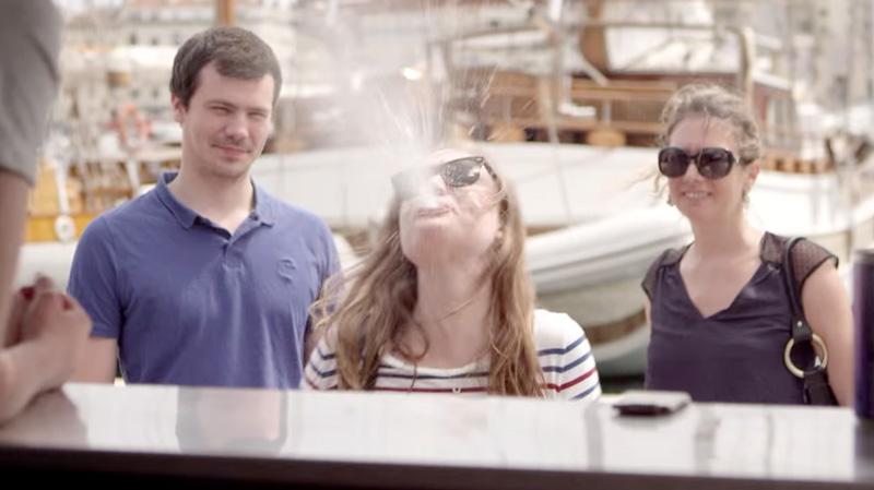 Tribord sensibilise au risque de la noyade avec une boisson à base d'eau de mer