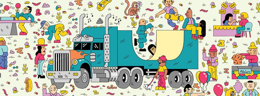 Le Sosh Truck a fait le tour de la France et proposé des animations ludiques pour toute la famille