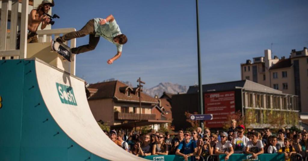 Le Sosh Truck a proposé des animations autour du skate pendant presque 2 mois