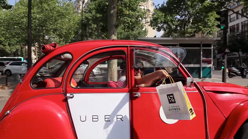 Vendredi 24 juillet, Uber livre des glaces gratuitement dans 9 villes françaises