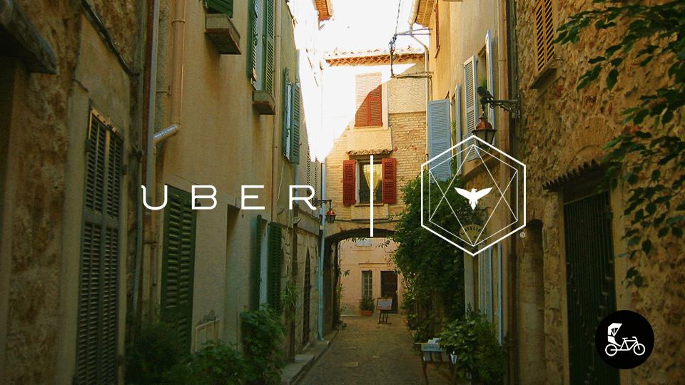 Uber s'associe à Taco and Co à Arles à l'occasion des Napoléons et propose un trajet en pousse-pousse !