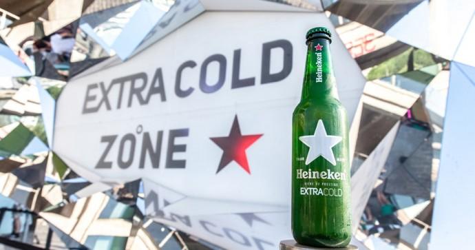 Heineken a mis en place un bar éphémère en juillet dernier pour faire la promotion de ses bières à 0°