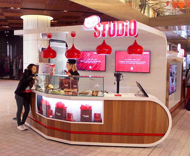 Kit kat a ouvert un pop up store à Sydney