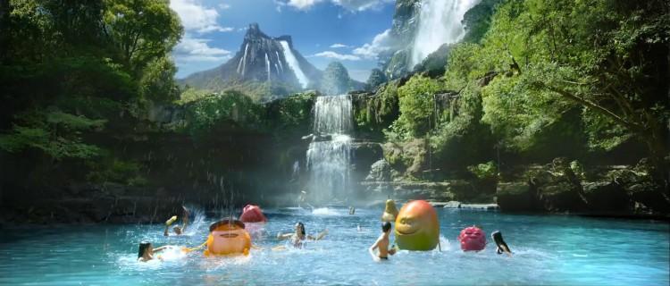 Le nouveau spot d'Oasis est un retour à la Source pour les p'tits fruits