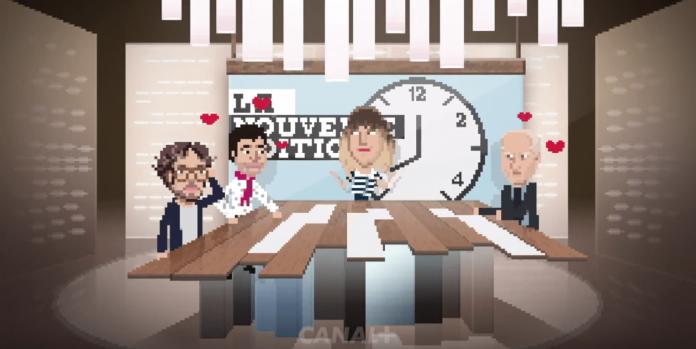 Un changement de présentateurs illustré par un spot façon jeu vidéo par canal plus