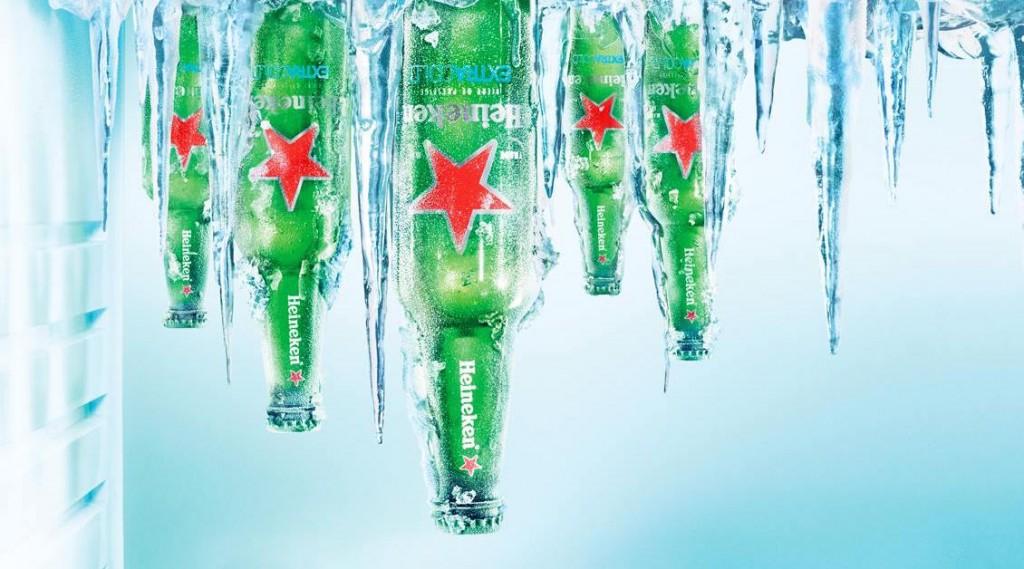 Dès que l'étoile passe du blanc au rouge c'est que la bière extra cold est à température idéale