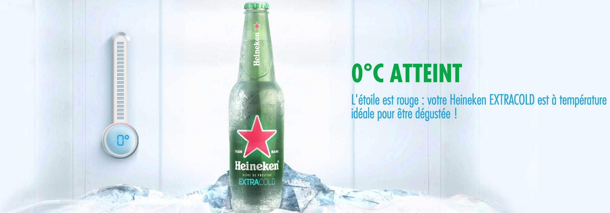 Heineken a imaginé la première bière spécialement conçue pour aller au congélateur