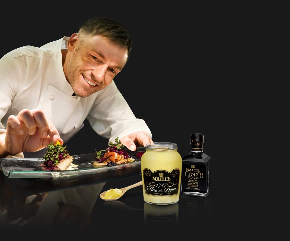 Pendant 4 mois, Maille investit 10 restaurants pour une opération culinaire d'envergure