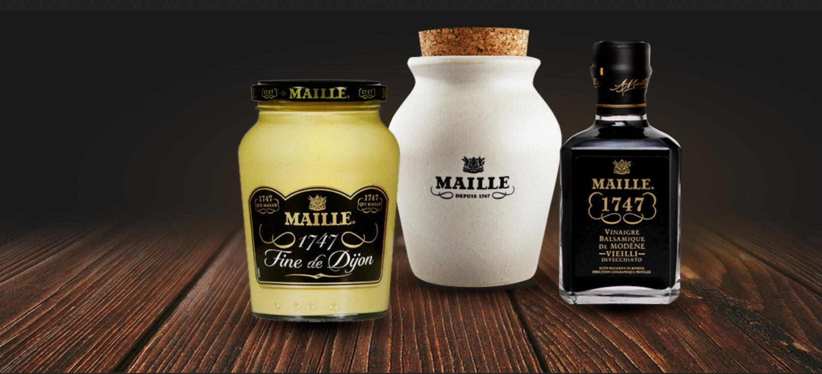 La Maison Maille met en lumière 10 restaurants  dans différentes villes françaises