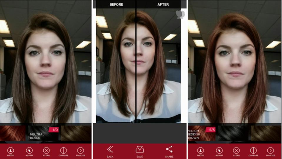 Vidal Sassons lance VS Shades, une application qui permet de tester de nouvelles couleurs de cheveux