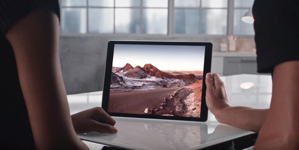Apple dévoile un iPad pour les professionnels, plus grand, plus puissant, plus rapide