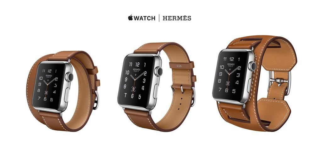 Apple s'associe à Hermès et lance de nouveaux bracelet en cuir