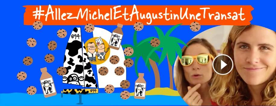Clarisse veut traverser l'Atlantique en solitaire et a demandé à Michel & Augustin de l'accompagner