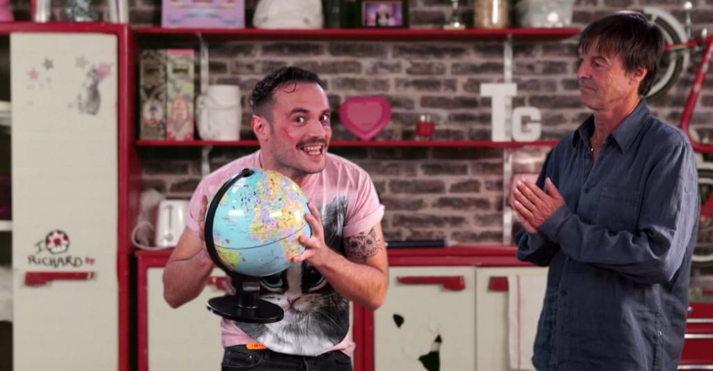Nicolas Hulot rajeunit sa prise de parole avec les Youtubeurs