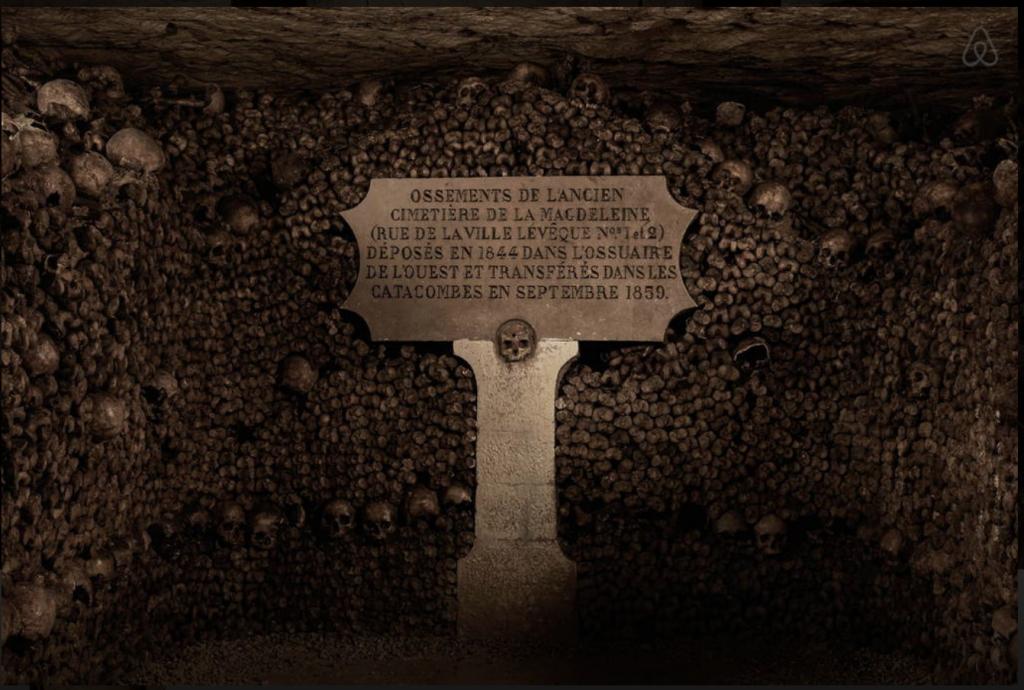 Airbnb et Ubi Bene vous offre une nuit insolite dans les catacombes de Paris