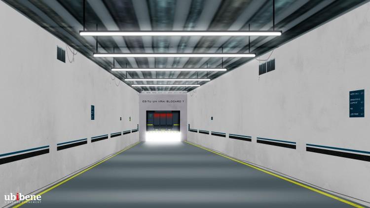 Ubi bene recréer l'univers du film Labyrinthe à la Gare Saint Lazare à Paris jusqu'au 4 octobre