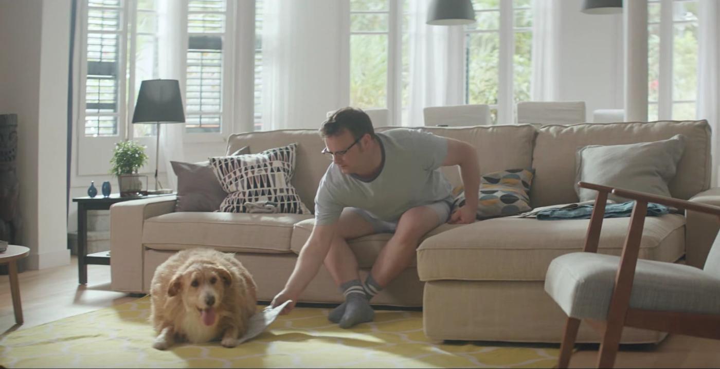 Ikea présente Bouboule, un hôte des plus particuliers