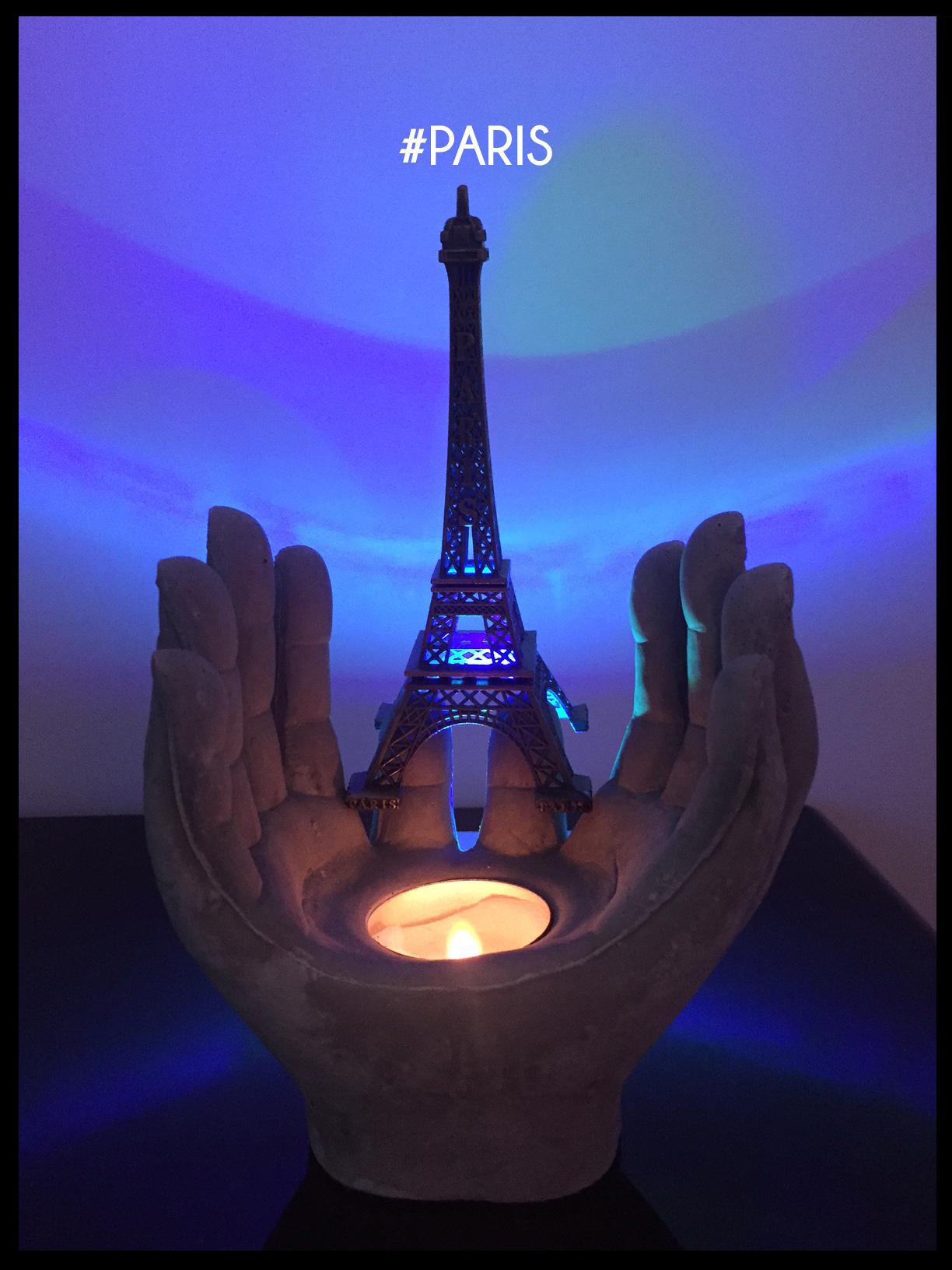 Une bougie pour Paris