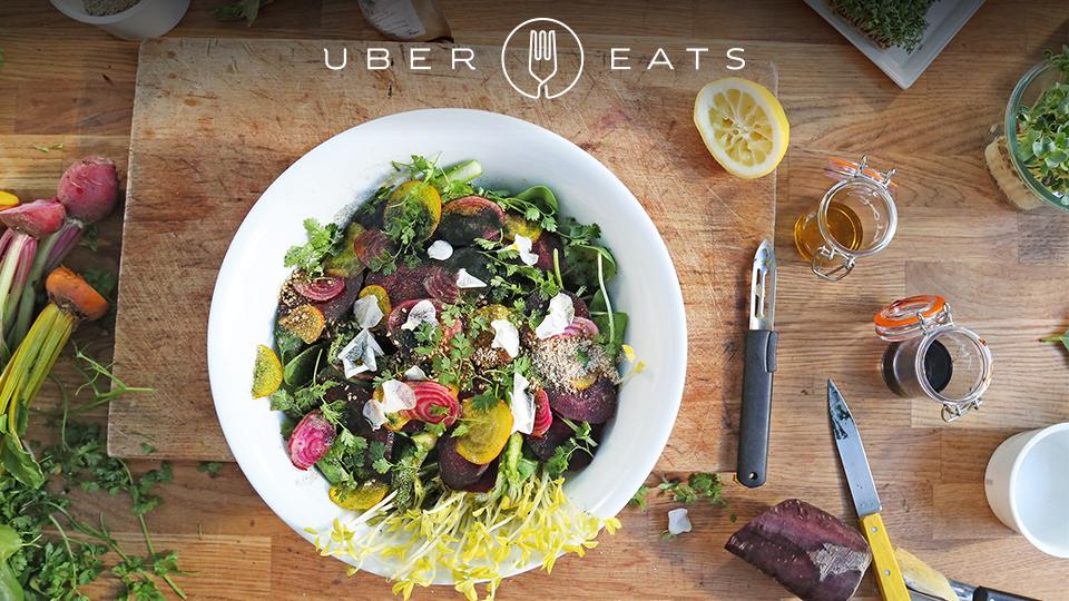 Uber propose un service de livraison de repas sur Paris, gratuit et en moins de 10 minutes