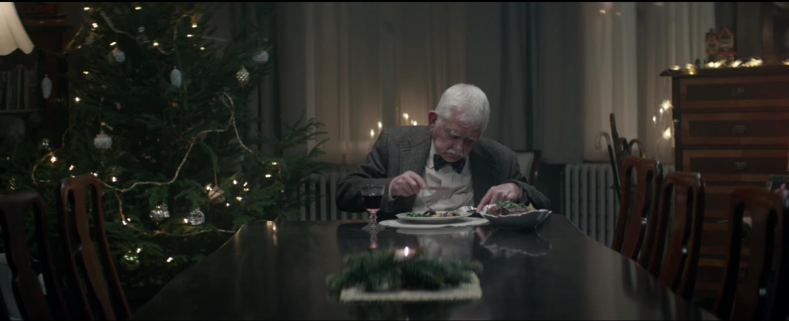 Edeka dénonce la solitude des personnes âgées pendant les fêtes avec un spot triste et touchant