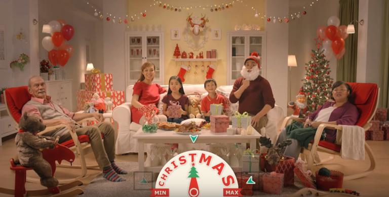 Cette vidéo permet d'intensifier ou non l'esprit de Noël