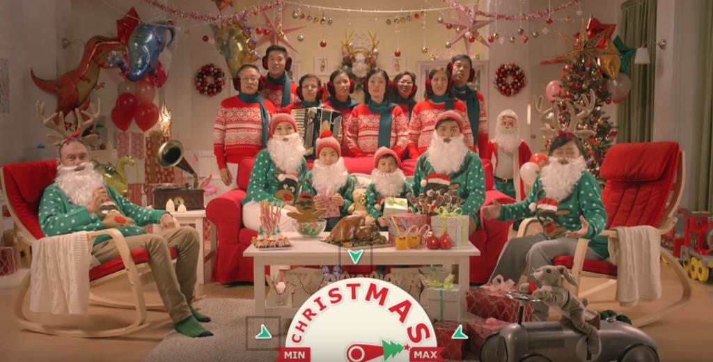 IKEA nous propose une vidéo interactive pour Noël avec BBH à SIngapour