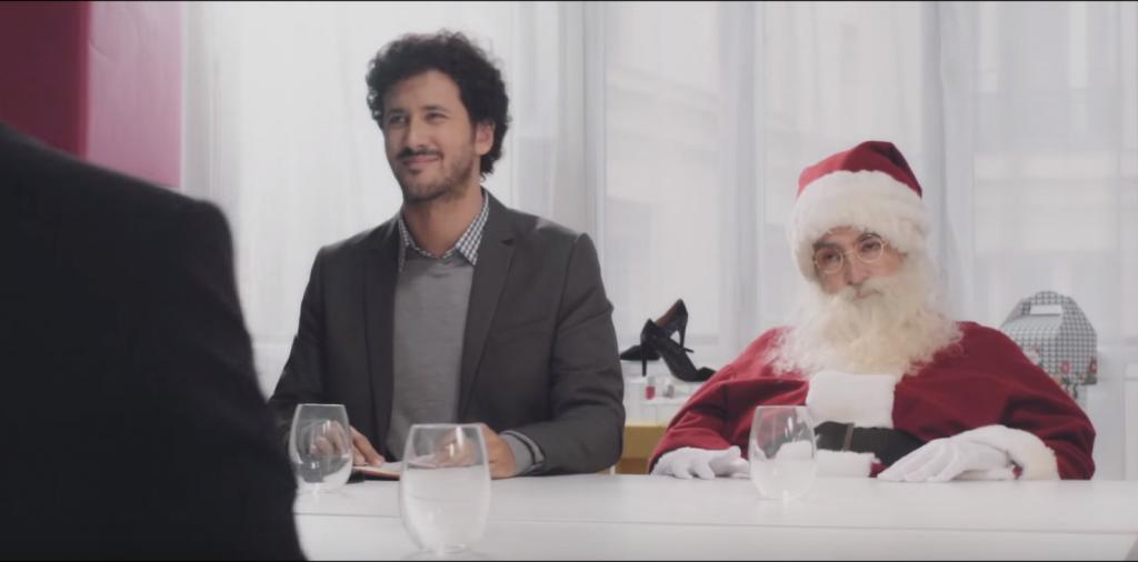 Sarenza a proposé un deal à Santa Claus pour Noël
