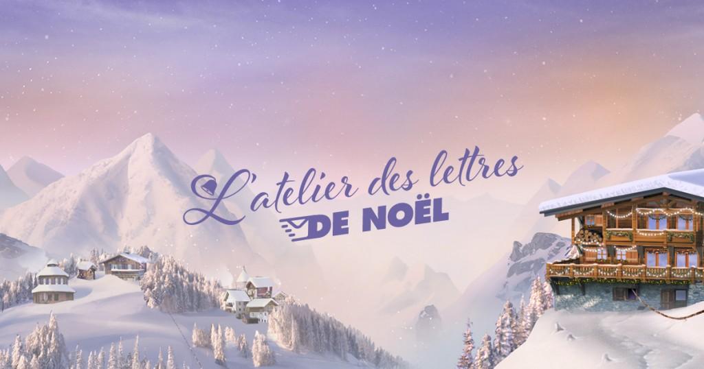 Noël J-15 : l'atelier des lettres de Noël de Milka