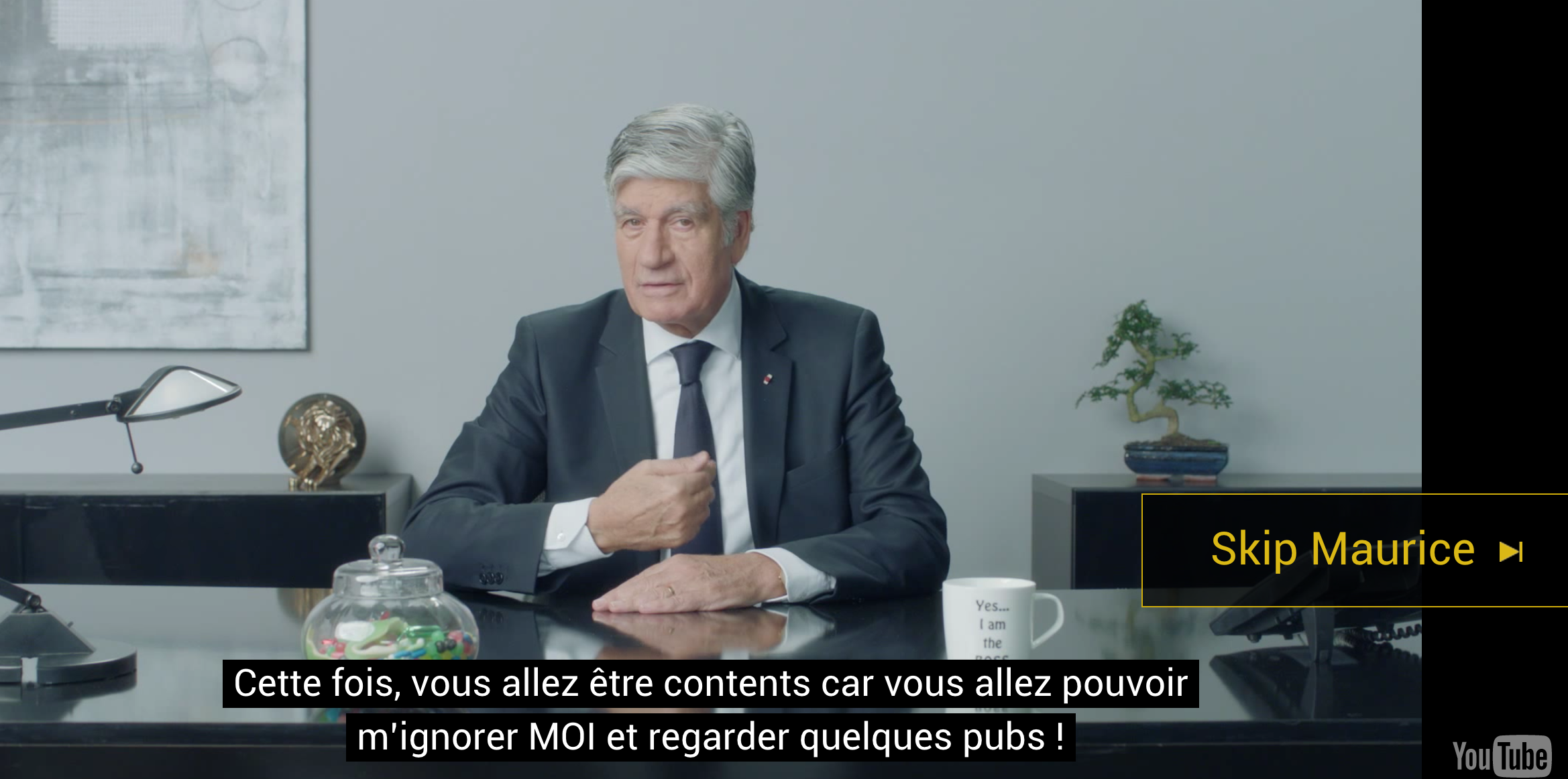 Marcel propose de skipper Maurice Lévy si vous trouvez qu il vous ennui