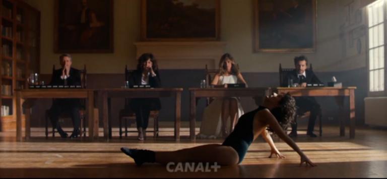 Florence Foresti passe son audience devant les anciens animateurs des César et nous fait du Flashdance