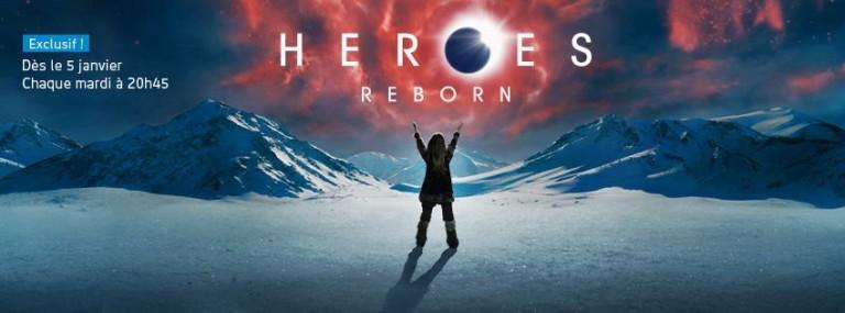 Syfy célèbre le lancement de Heroes Reborn, la série qui fait suite à Heroes